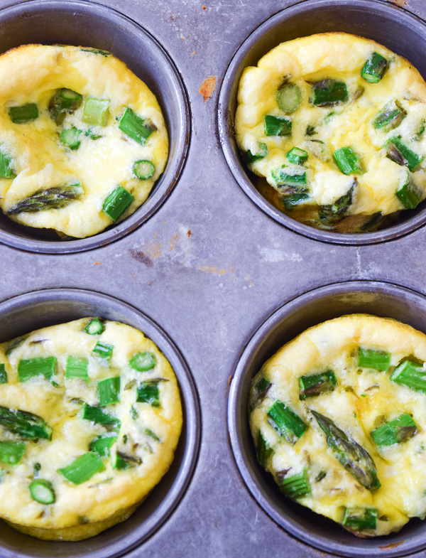 Parmesan Asparagus Egg Muffins1
