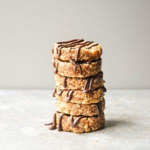 No Bake Clif Bar Cookies (Gluten Free) • Tastythin