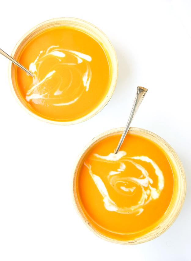 Whole30 Butternut Squash Soup