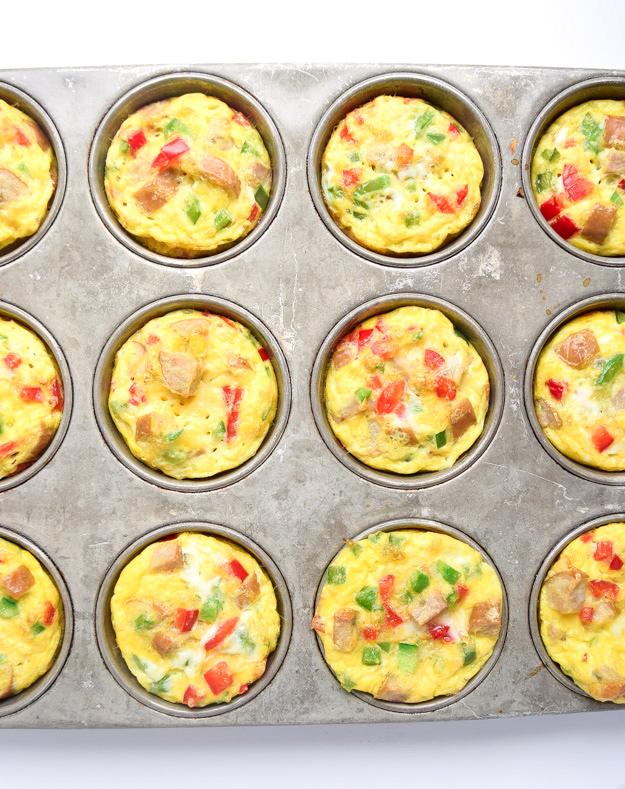 Frittata muffins recipe paleo