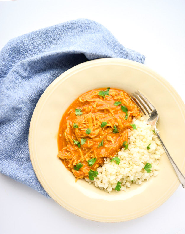 Instant Pot Chicken Tikka Masala (Whole30 Paleo) - A comforting, flavorful Whole30 compliant dish cooked in the Instant Pot or slow cooker! | tastythin.com