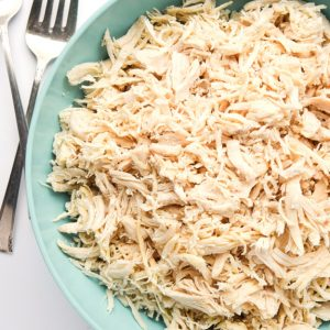 Whole30 Instant Pot Shredded Chicken (plus 2 Bonus Recipes) - add this to your Whole30 or Paleo meal plan, it's a lifesaver! | tastythin.com