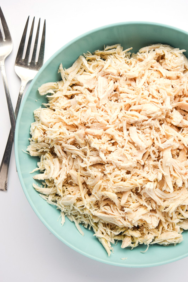 Instant Pot Shredded Chicken Whole30 Paleo Tastythin