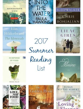 2017 Summer Reading List - the top 10 best books to read this summer! | tastythin.com