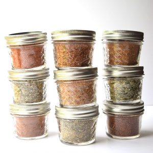 Homemade Seasoning Blends - Nine DIY Recipes - Add great flavor to your food and save money with these simple to make seasoning blends! Make great gifts too! | tastythin.com