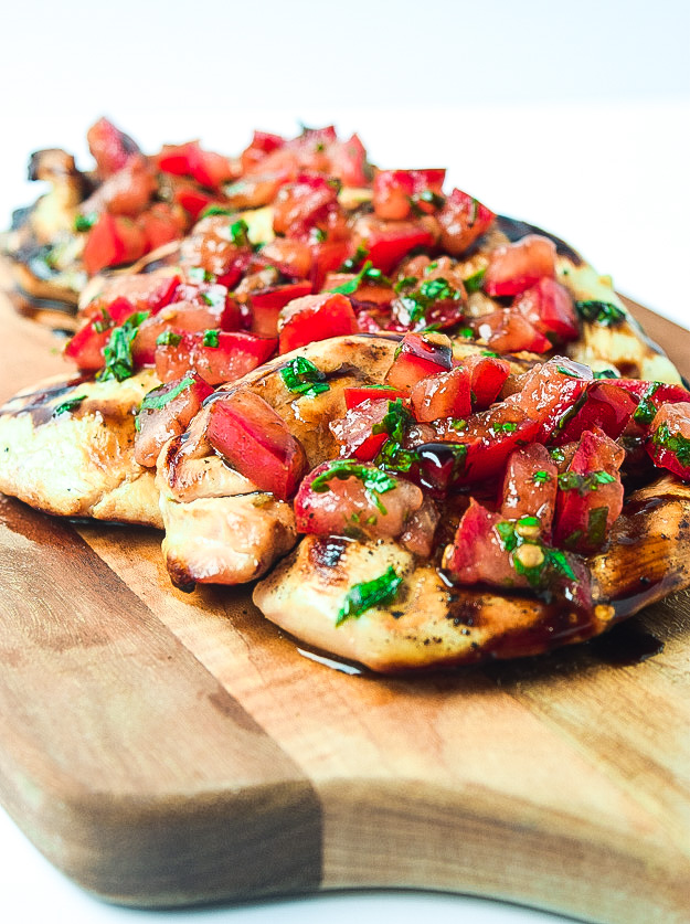 Whole30 Bruschetta Grilled Chicken