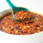 instant pot vegetarian lentil chili