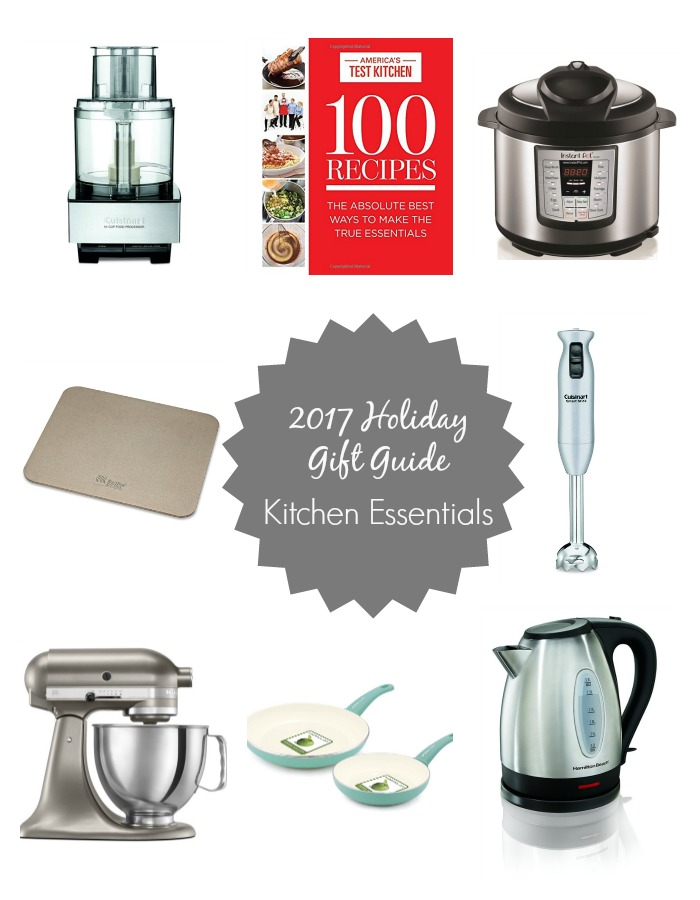 2017 Holiday Gift Guide Favorite Kitchen Essentials Stocking