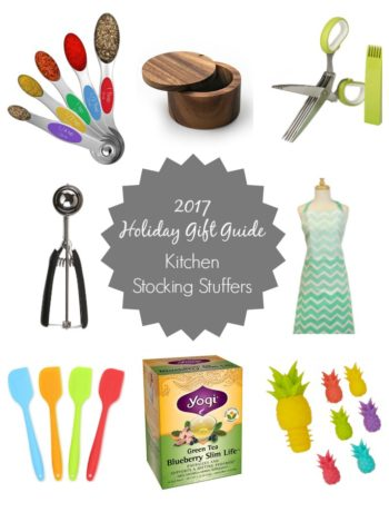 2017 Holiday Gift Guide: Favorite Kitchen Essentials & Stocking Stuffers - gift giving guides for the cooks and foodies in your life!