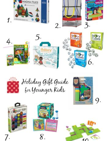 2017 Holiday Gift Guide: Cool Gifts for Kids & Teens for encouraging creativity and play. A little something for everyone!   tastythin.com