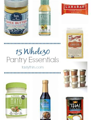 whole30 pantry essentials list