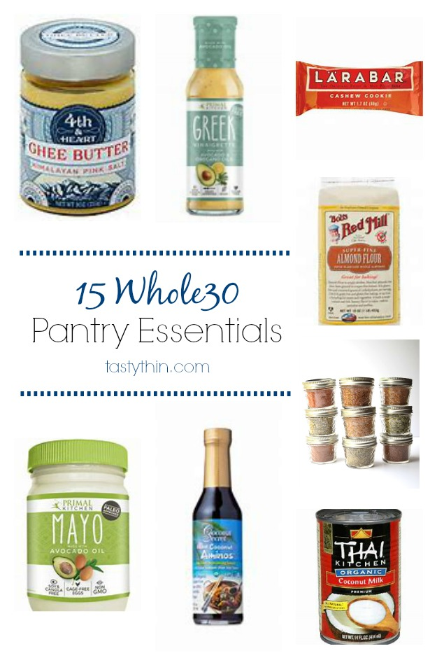 whole30 pantry essentials list