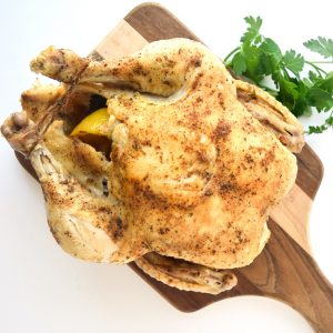 whole chicken cooked in instant pot