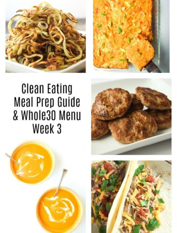 whole30 meal plan prep guide