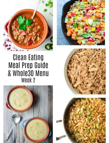 whole30 meal plan and meal prep guide