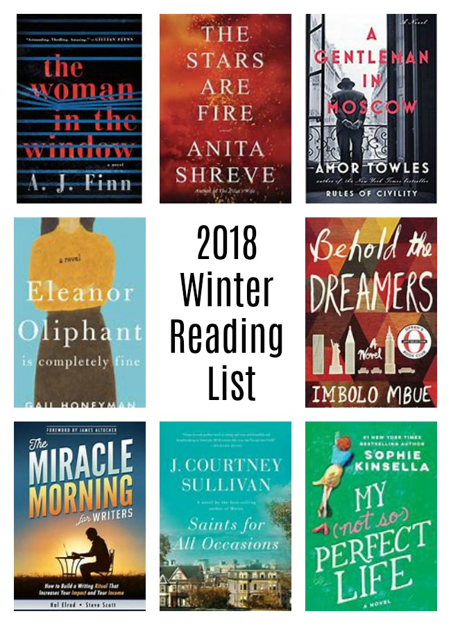 reading list and book club suggestions