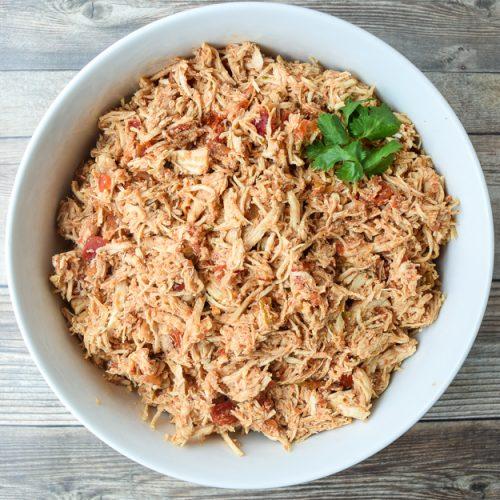 Instant Pot Salsa Chicken Whole30 Paleo Tastythin