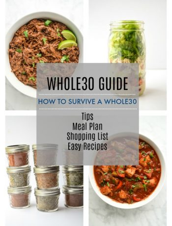 whole30 guide meal plan shopping list