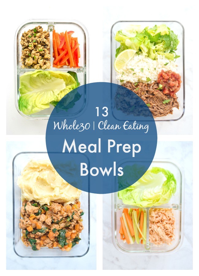 whole30 meal prep bowls recipes roundup