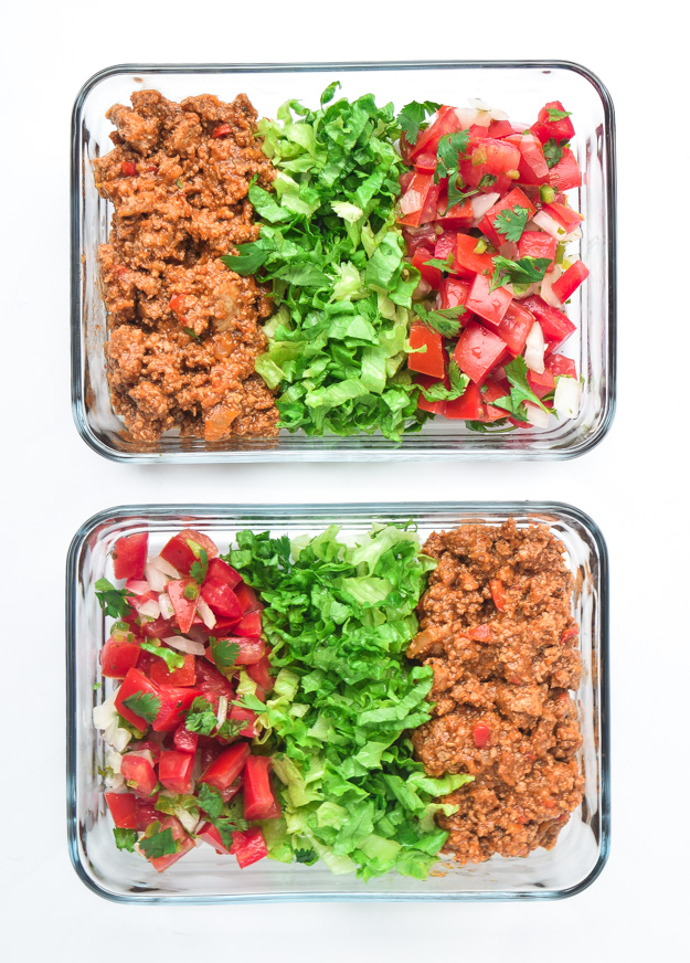 Instant Pot Meal Prep Taco Bowls (Whole30, Paleo, Keto)
