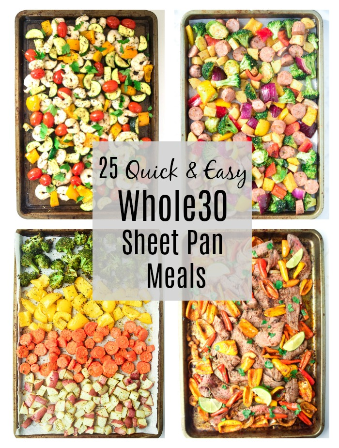 25 quick and easy whole30 sheet pan meals