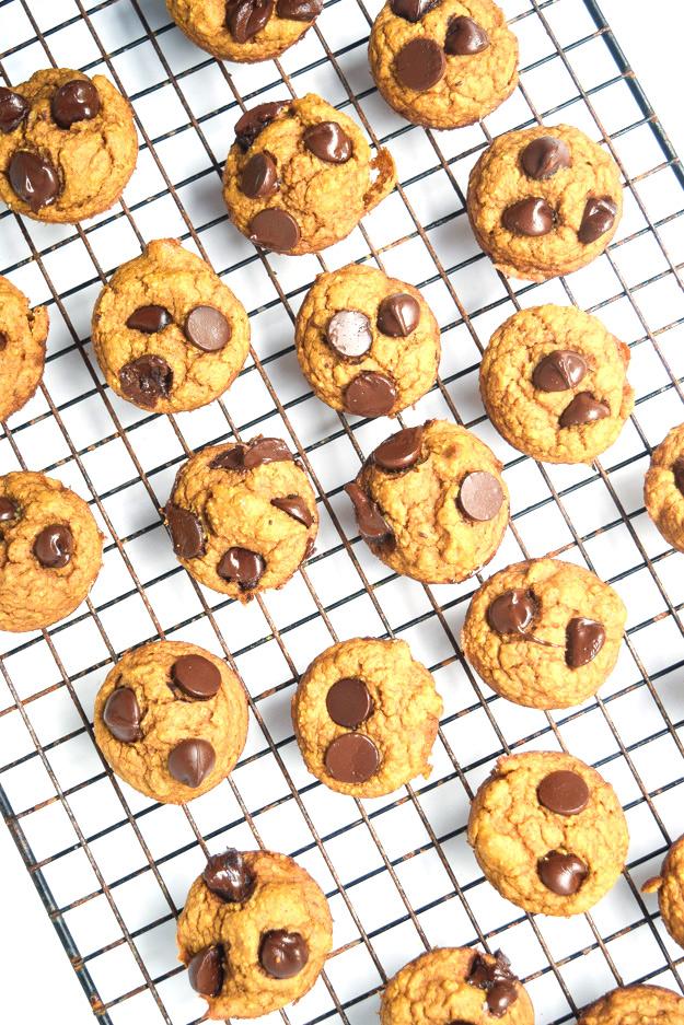 mini pumpkin applesauce blender muffins