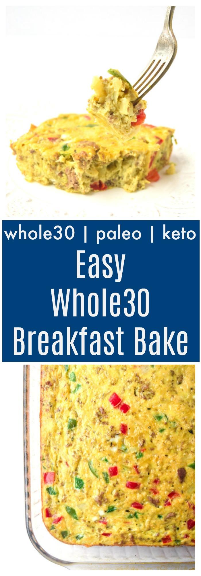 easy whole30 breakfast bake