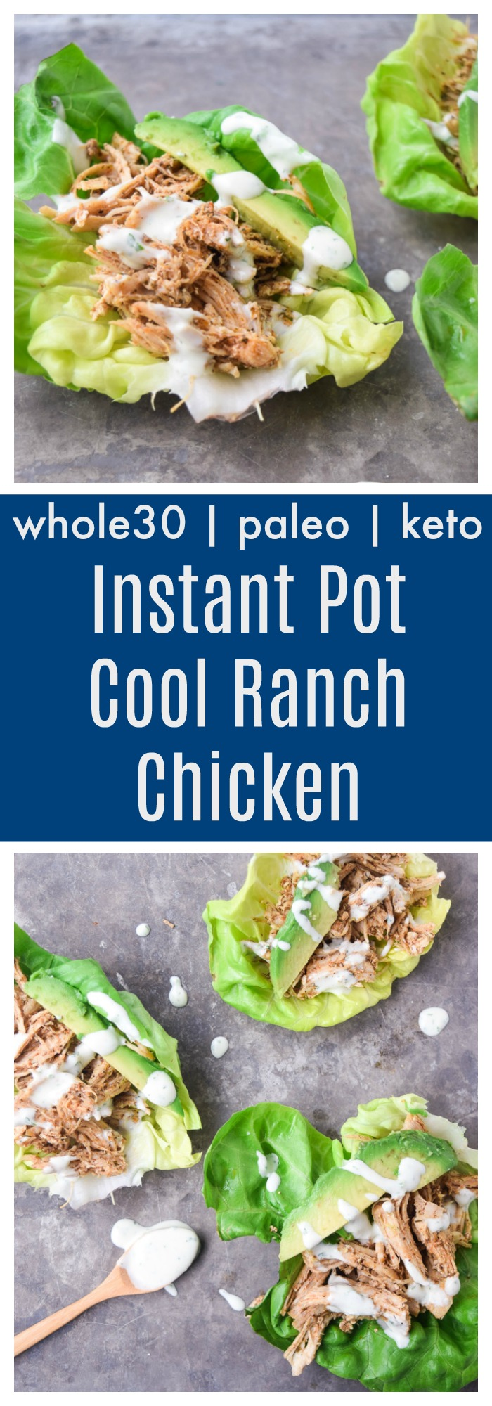 instant pot cool ranch chicken