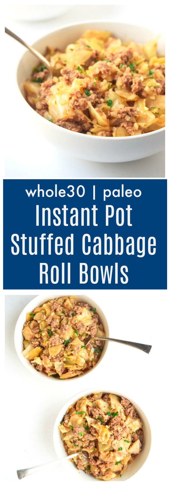 instant pot stuffed cabbage bowls