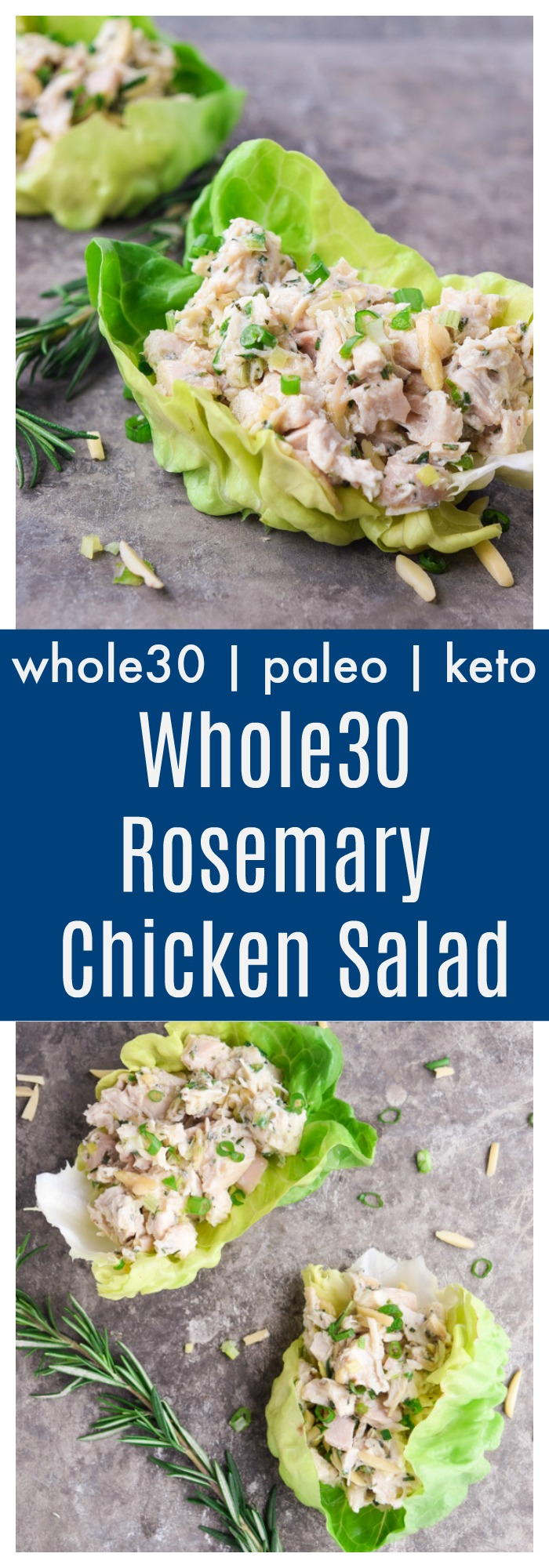 whole30 rosemary chicken salad