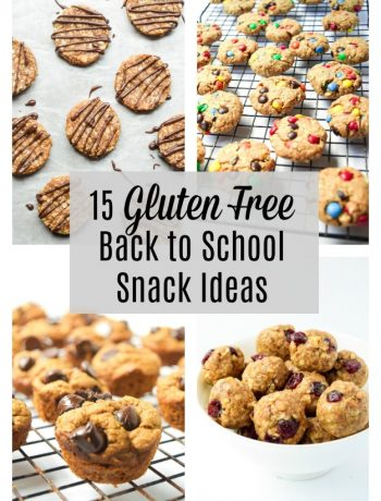 gluten free back to school snack ideas