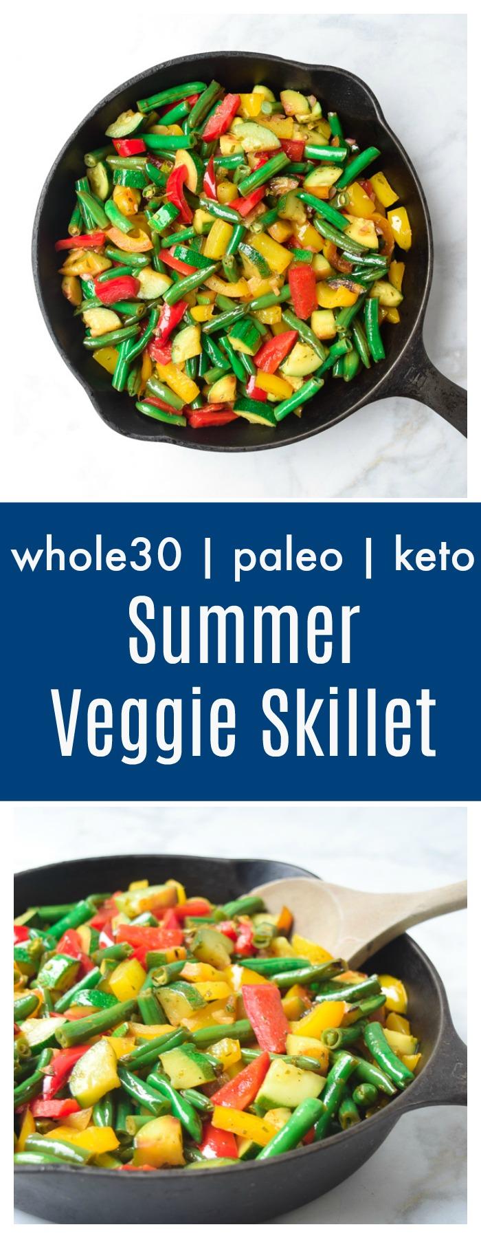 summer veggie skillet