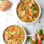 Paleo Instant Pot creamy Chicken Stew