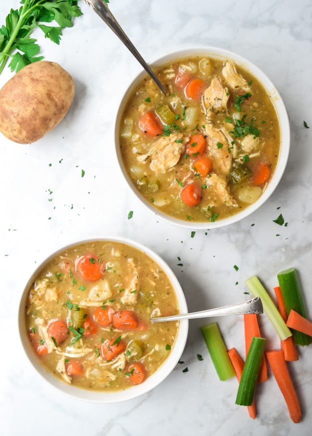 Instant Pot Creamy Chicken Stew