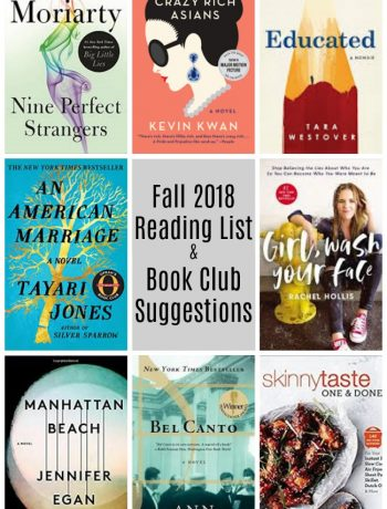 book club suggestions and reading list
