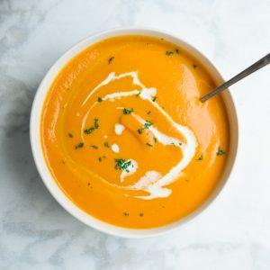 easy instant pot pumpkin soup