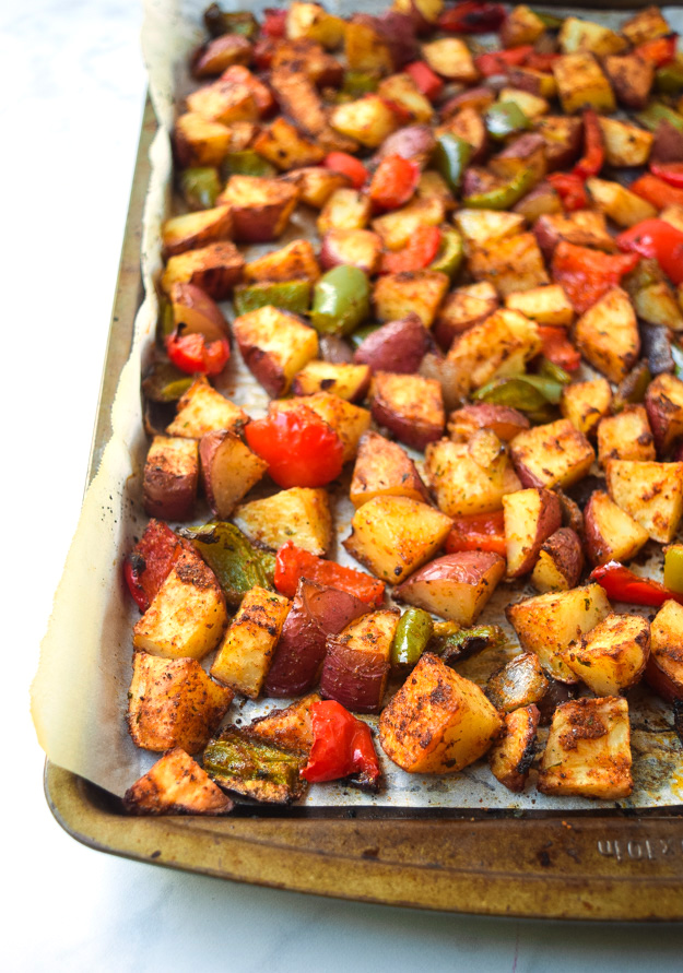 Meal Prep Easy Sheet Pan Breakfast Potatoes