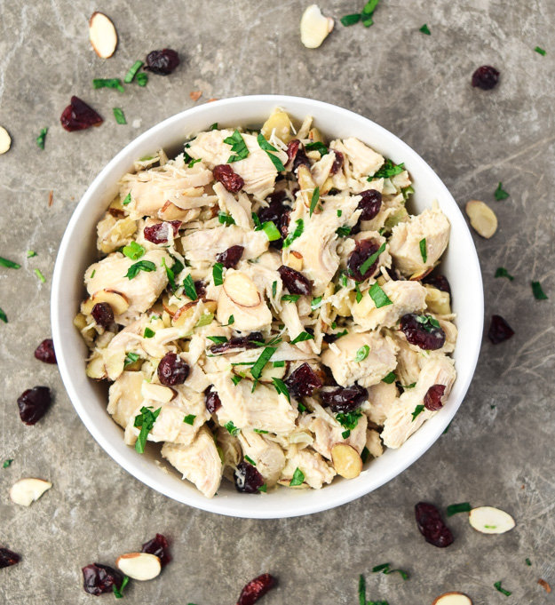 Cranberry Chicken Salad (Whole30 Paleo Keto)