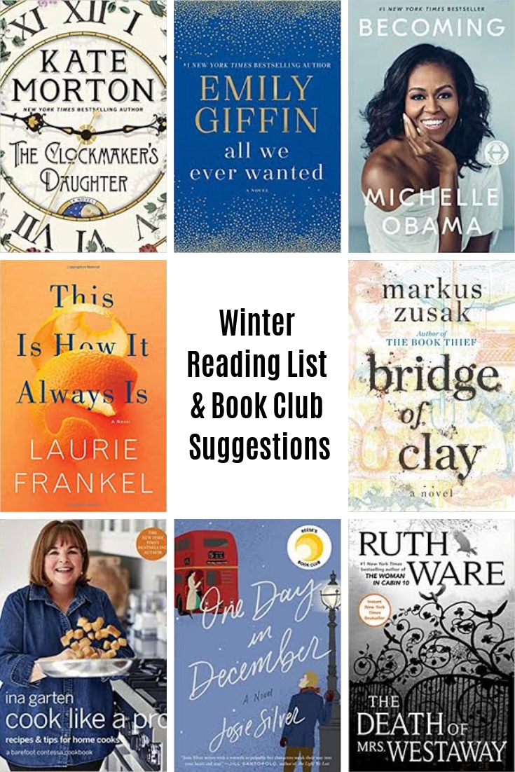 WInter Reading List & Book Club Suggestions