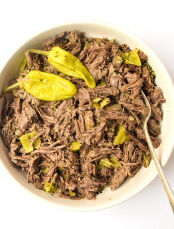 Instant Pot Italian Beef Whole30 Paleo Keto