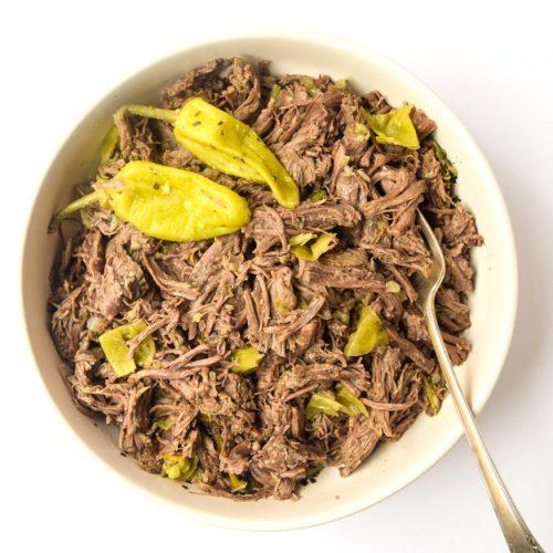 Instant Pot Italian Beef Whole30 Paleo Keto