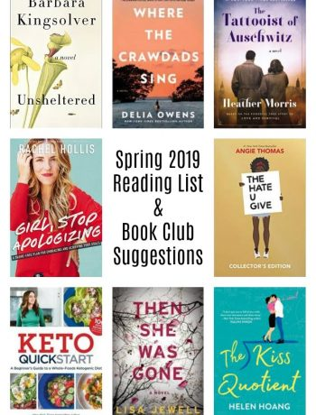 SPring Reading List and Book Club Suggestions