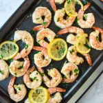 Sheet Pan Lemon Garlic Shrimp