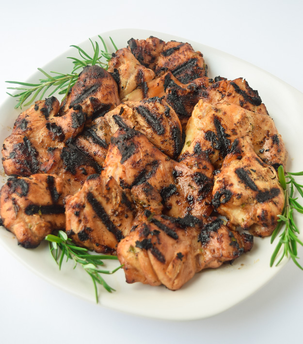 Best Grilled Chicken Thighs Recipe