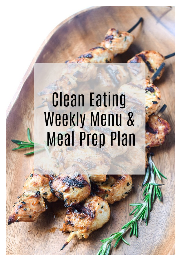 Clean Eating Weekly Meal Plan Amp Meal Prep Week 5 Tastythin