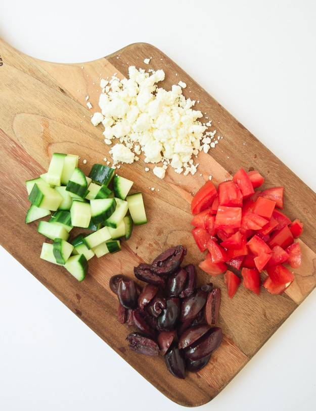 Toppings for Greek Wedge Salad