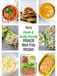 thrity whole30 meal prep recipes