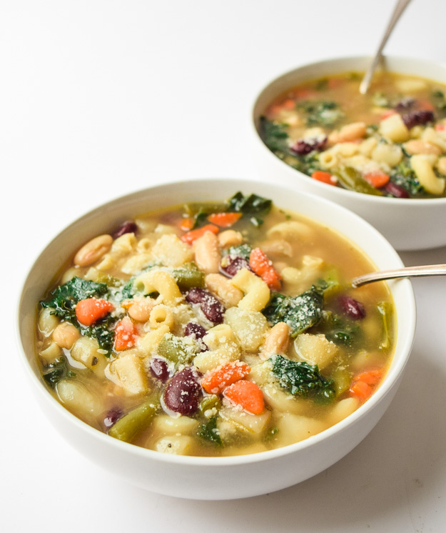 instnat pot minestrone soup