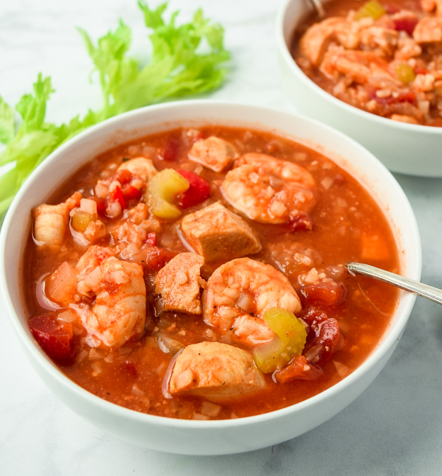 Instant Pot Gumbo (WHole30 Keto)