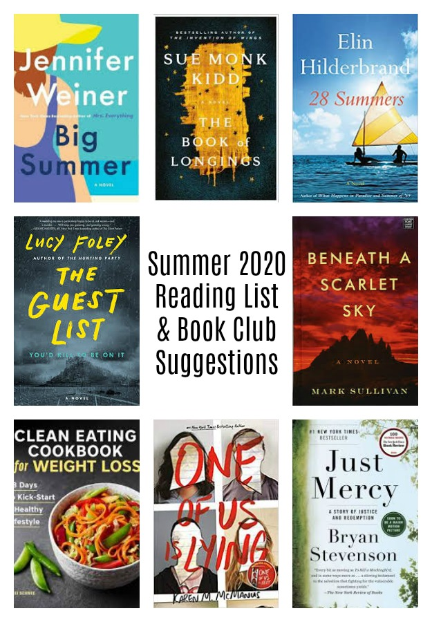 summer 2020 book club suggestions